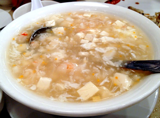 Boil Crabmeat and Tofu Soup