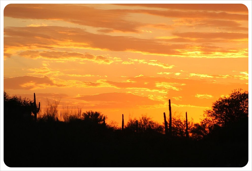 Tucson Sunset View