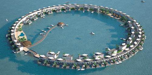 Плавающие острова помогут спасти тонущие Мальдивы