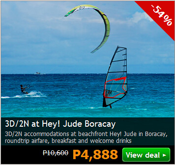 3D/2N at Hey Jude Boracay Promo