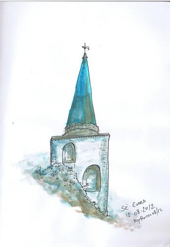 2012-08 torre da Sé de Évora