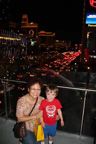 Olsen and Grandma on The Strip