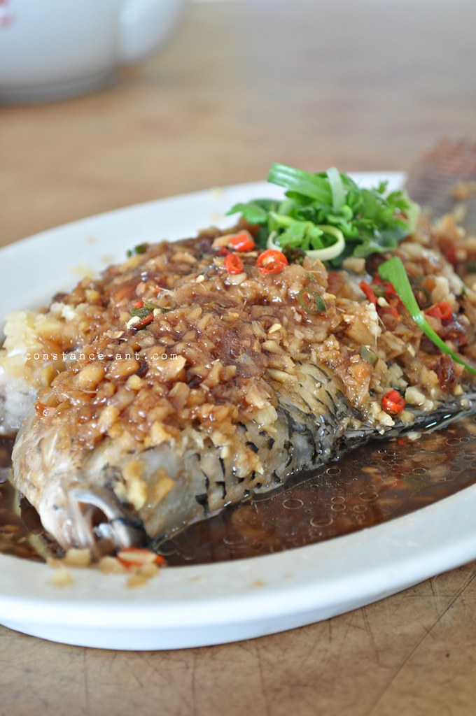 Klang Valley: Steamed Fish @ Restoran Lan Je, Rawang