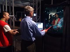 Augmented Mirror at SIGGRAPH 2012