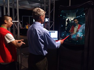 Augmented Mirror at SIGGRAPH 2012