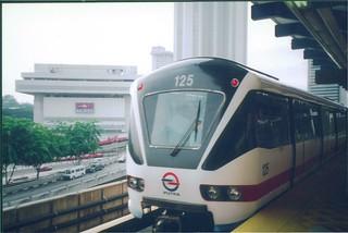 Putra LRT departing