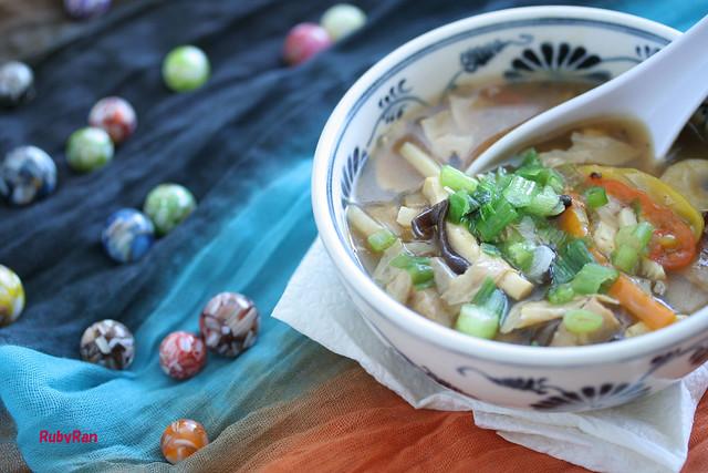 酸辣湯 Vegan Hot and sour soup ♥ | Flickr - Photo Sharing!