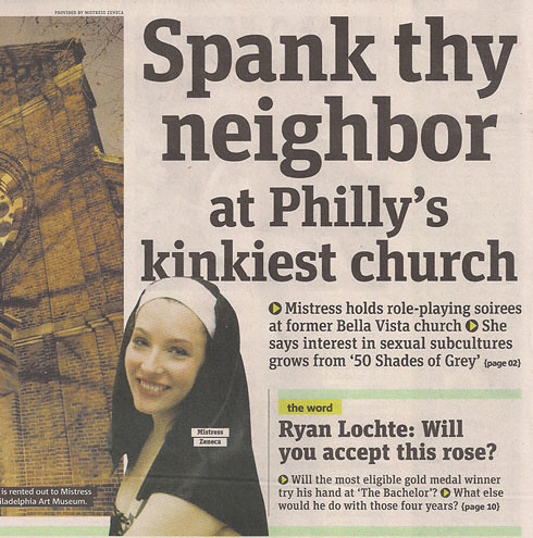 Spank Thy Neighbor at Philly's Kinkiest Church