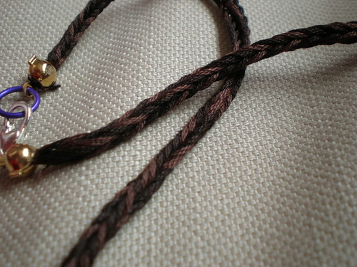 Brown Necklace Cord