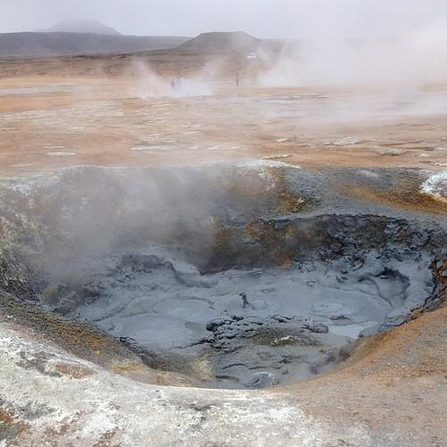 Caldera de lodo #iceland #islandia #iceland #volcan #volcano