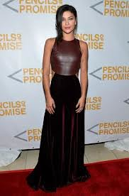 Jessica Szohr Oxblood Trend Celebrity Style Women's Fashion
