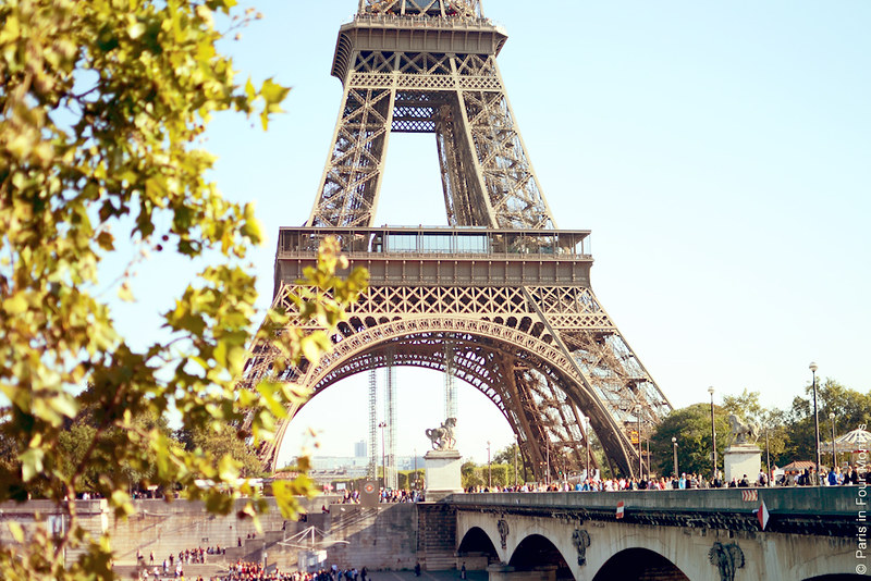 The Eiffel Tower by Carin Olsson (Paris in Four Months)