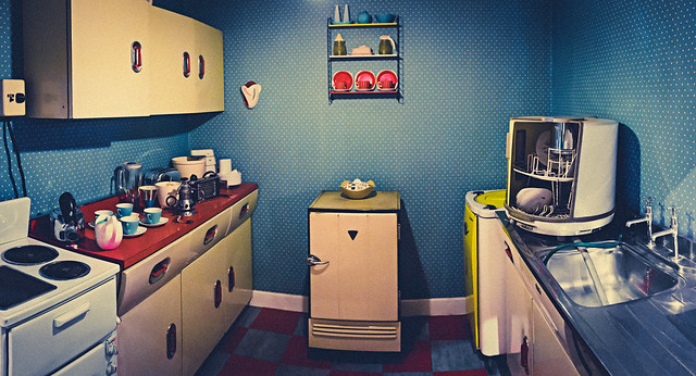 50s Kitchen - Museum of Science and Industry, Manchester.
