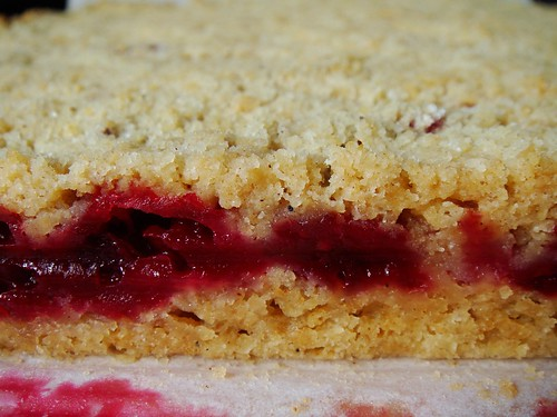 Cranberry Crumb Bar with Mulling Spices: Profile