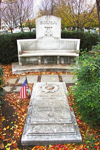 John Philip Sousa grave - Congressional Cemetery - Washington DC - 2012