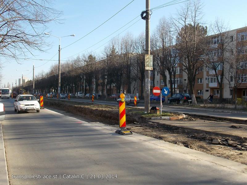 Traseul 102, etapa I: Bucla Nord ( Sp. Județean ) - Intersecție Republicii 13355388675_76cdc40c14_c