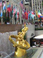 NYC Vacation: Rockefeller Center area
