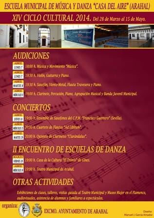 """AionSur 13696089533_9afec748bd_d XIV Ciclo Cultural 2014 de la Escuela de Música y Danza """"Casa del Aire"""" Agenda Cultura"""