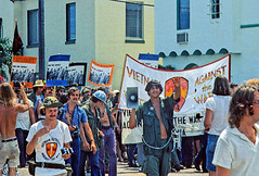 Viet Vets March in Miami Against War: 1972