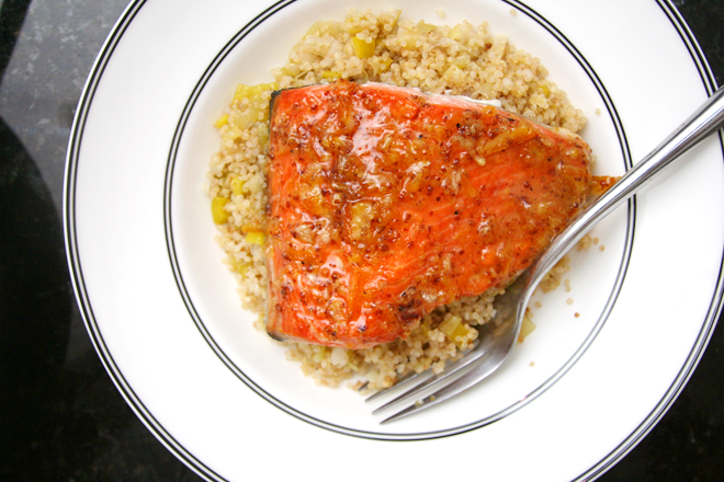 marmalade mustard salmon 7
