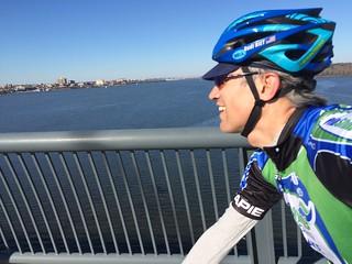 Circumnavigating DC's perimeter by bike - 15 November 2015