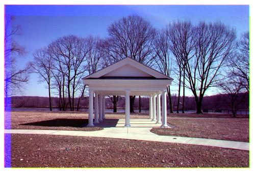 Halfmooon park gazebo - Prokudin-Gorskii technique, Halfmoon, N.Y.
