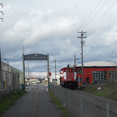 OPR 1202 blocks the EPT mainline at the head of the Springwater Trail