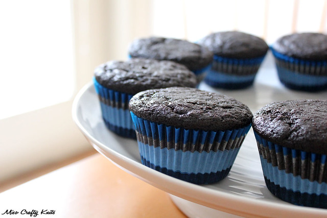 Deep dark mocha cupcakes pre-frosting