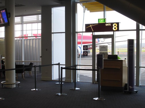 Gate 8 - Canberra Airport