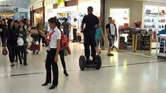Segway Security, Suvarnabhumi Airport Terminal, Bangkok