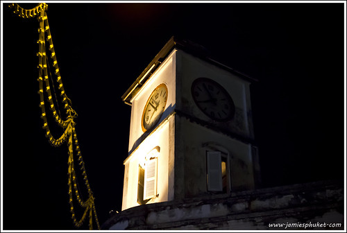 Phuket Town Clock Tower