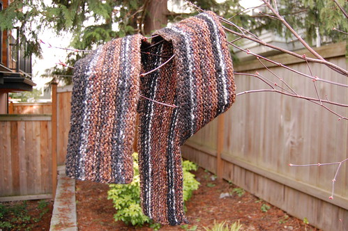 Rustic Manly Scarf