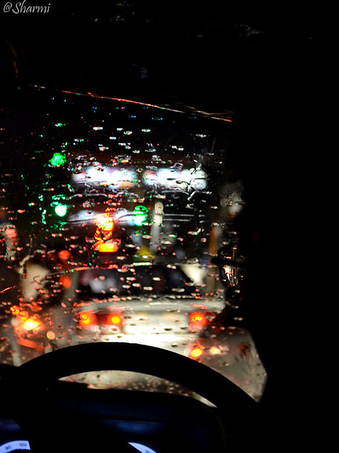 rain blur