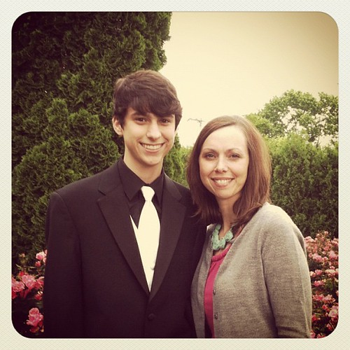 My guy. ::sigh:: #homeschoolprom