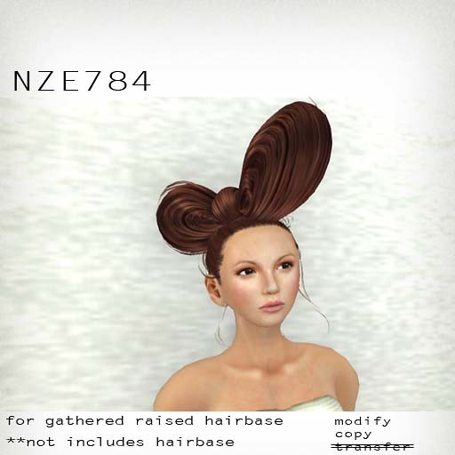 booN NZE784 hair