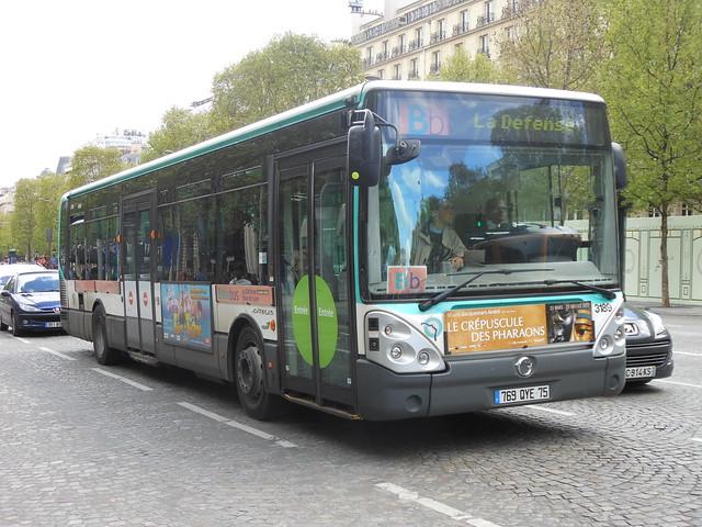 3189 Irisbus Citelis Line - 29 avril 2012 (Avenue des Champs Élysées - Paris)