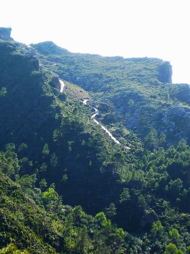 Wanderweg in der Sierra de Segura
