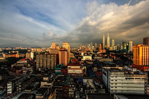 Good evening Kuala Lumpur by vedd