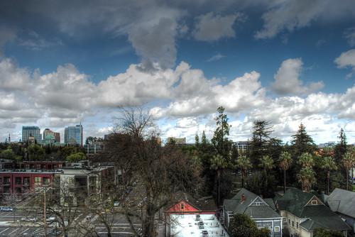 Sacramento's Springtime Storms 6 HDR