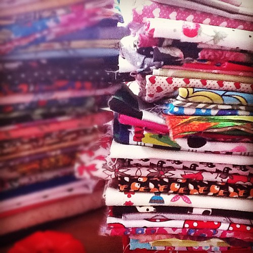 My fabrics collection ;)