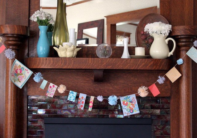 Scappy Fabric & Twine Garland