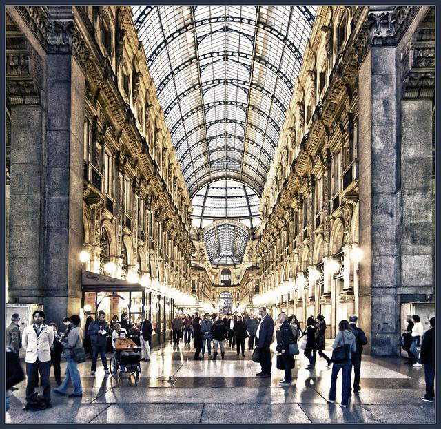 Galleria Vittorio Emanuele II (Frontpage)