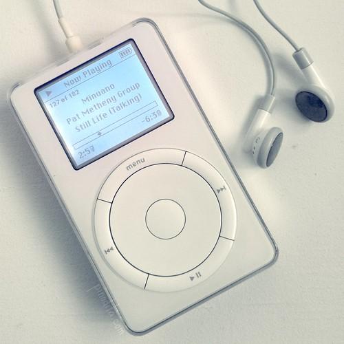 1st gen iPod 2001