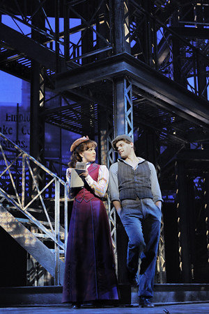 Newsies, the musical