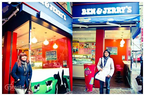 ben and jerrys scoop shop