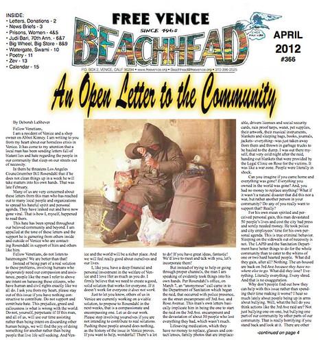 Venice Beachhead April 2012