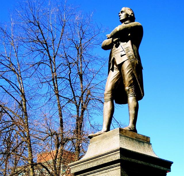 Samuel Adams Statue