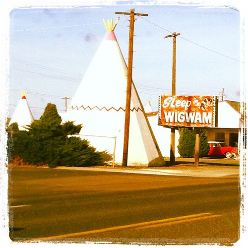 Wanna sleep in a wigwam?