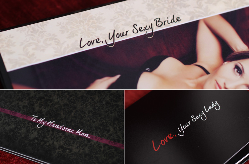 Boudoir Photo Book Design