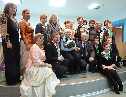ИЯ с учителями и учениками гимназии 19